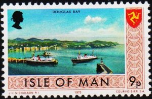 Isle of Man. 1973 9p S.G.27 Unmounted Mint