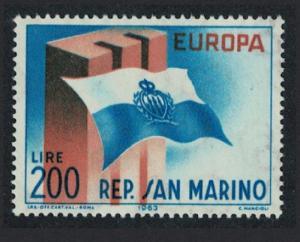 San Marino Europa issue 1963 SG#731