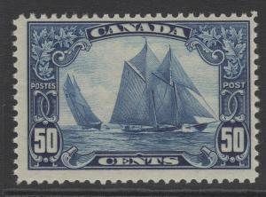 CANADA SG284 1929 50c BLUE MNH