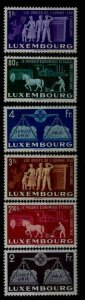 Luxembourg 272-77 MNH United Europe SCV125