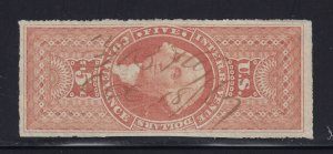 R89a VF used neat cancel with nice color cv $ 50 ! see pic !