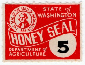 (I.B) US Revenue : Honey Seal 5c (Washington State)