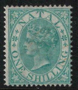 Natal SC 17 Mint 1867 $ 275.00 Stamp