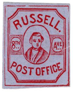 (I.B) US Local Post : Russell Post Office