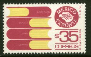 MEXICO Exporta 1130, $35P Books Fosfo Paper 7 MINT, NH. VF.
