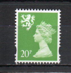 Great Britain - Scotland SMH75 MNH
