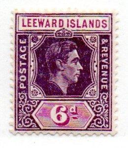 LEEWARD ISLANDS 110 MNH SCV $6.00 BIN $3.60 ROYALTY