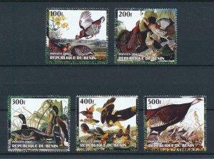 [105349] Benin private issue 2003 Birds vögel oiseaux ducks pheasants  MNH