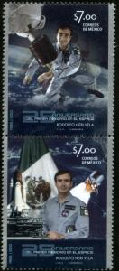 MEXICO 2707a First Mexican Astronaut in Space 25th Anniversary MINT, NH. VF.