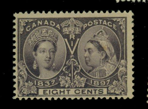 Canada #56 MINT F-VF OG NH Sm stain Cat$300