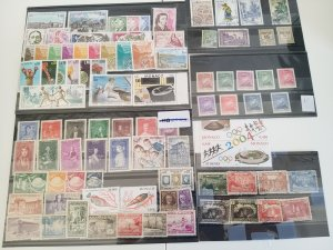 Lot Monaco 91 stamps used/unused