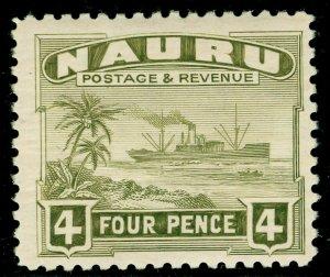 NAURU SG32B, 4d olive-green, NH MINT.