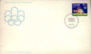 Canada, First Day Cover, Olympics