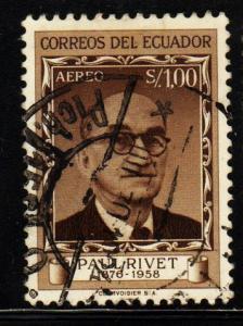 Ecuador -  #C340 Paul Rivet - Used
