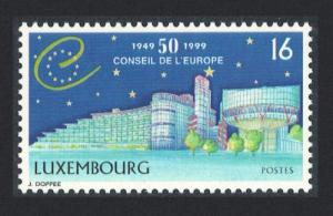 Luxembourg 50th Anniversary of Council of Europe 1v SG#1491