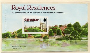 Gibraltar 1978 QEII Early Issue Fine Mint Unmounted 25p. NW-99273