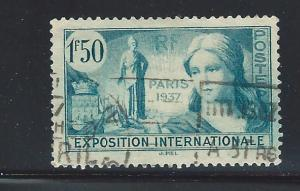 FRANCE SC #   324   USED