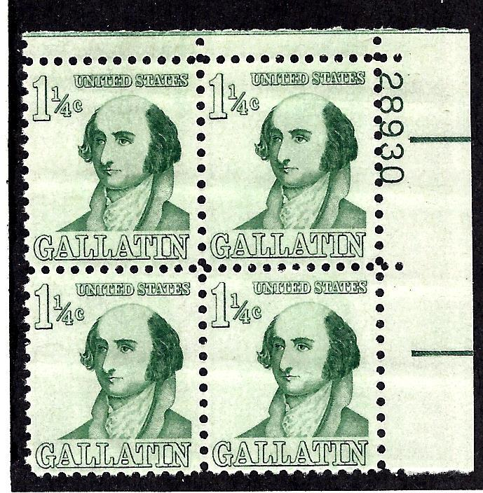 1279 Mint,OG,NH... Plate Block of 4... SCV $3.50