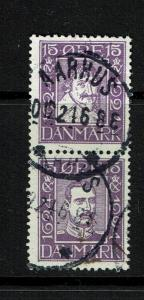 Denmark - 168 & 170 - Pair - Used (Small Thin on 170) - 052317