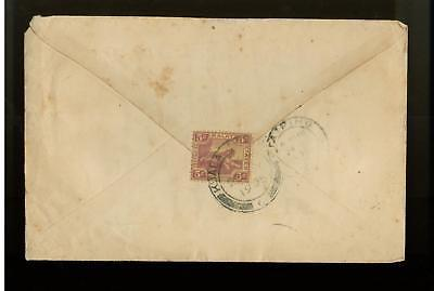 1925 Malay States Straits Settlement Cover to Taiping