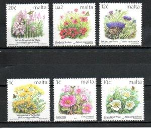 Malta 983-988 MNH
