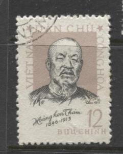 Dem.Rep.Viet Nam - Scott 241- Hoang Hoa Tham -1963 - FU -Single 12xu Stamp