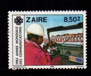 Zaire - #1141 World Communications - MNH
