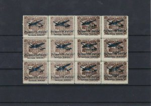 Equador Air Stamps Overprints Blocks Ref: R6550