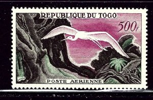Togo C25 MLH 1958 Egret in Flight    (ap3040)