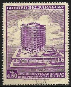 Paraguay 1961 Scott# 604 Used