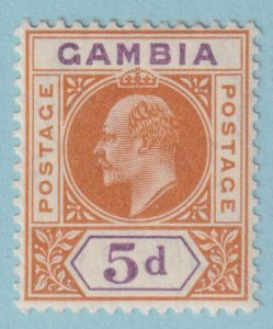 GAMBIA 51 MINT  HINGED OG *  NO FAULTS EXTRA FINE