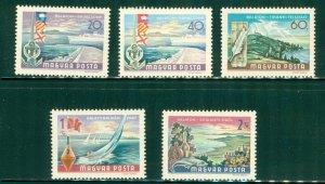 R5-0002 HUNGARY 1908-11MNH BIN $1.25 (8)