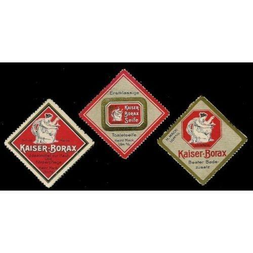 Kaiser-Borax Advertising Poster Stamps