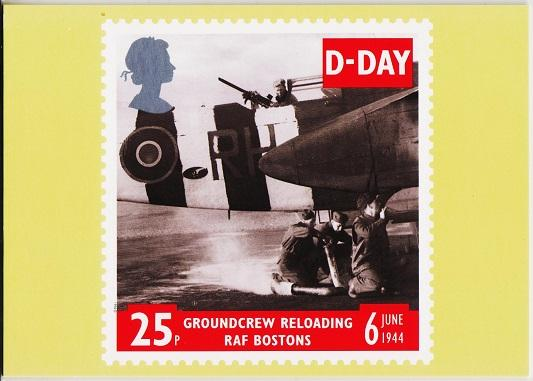 Great Britain. 1994 D-Day 6th June. PHQ Cards(5) Unused