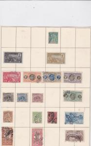 french colonies stamps on page ref 10524