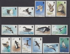 South Georgia 109-23 Birds mnh
