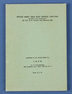 GREAT BRITAIN : British Army Field POs 1939-50, Locations & Assignments