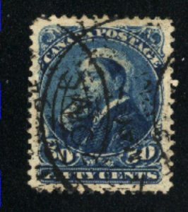 Canada #47  used  VF 1893   PD