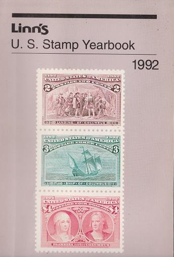 Linn's U.S. Stamp Yearbook for 1992