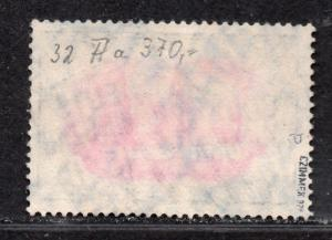 **German SW Africa, SC# 34a (Mi32Aa) Used VF, BPP Zimmer Signed, CV $400.00