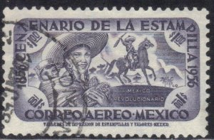 MEXICO  SC# C232 **USED** 1p  1956      SEE SCAN