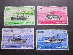 Malawi 1967 Sc 67-70 set MNH
