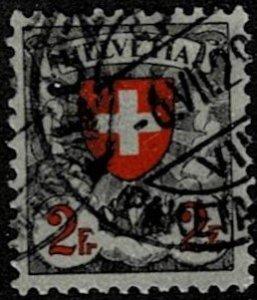1924 Switzerland Scott Catalog Number 203 Used