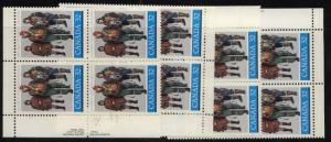 Canada USC #1043 Mint MS Imp. Blocks VF-NH 1984 32c Royal Canadian Air Force