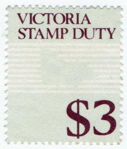 (I.B) Australia - Victoria Revenue : Stamp Duty $3