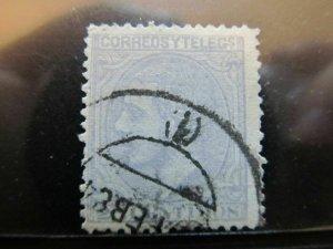 Spanien Espagne España Spain 1879 25c King Alfonso fine used stamp A13P37F14
