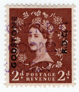 (I.B) Elizabeth II Commercial Overprint : Godstone Rural District Council