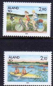 Aland Scott 60-61 MNH!