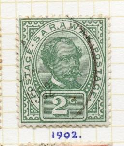 Sarawak 1899 Early Issue Fine Used 2c. 295644