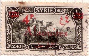 Alaouites 4p surcharge 1928
